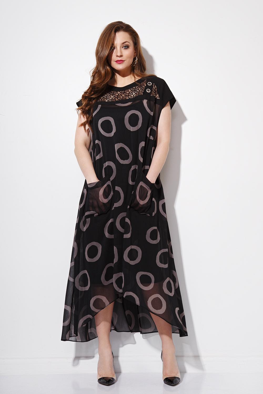 b0d8d423779 Платье Anna Majewska арт. 1020 круги