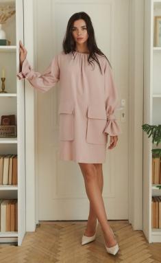 Dress Ladis Line 1379 pudra