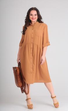 Dress Andrea Style 00142 pesok