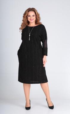 Dress Andrea Style 00235 chernoe