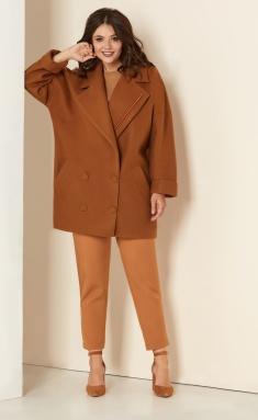 Coat Andrea Style 00276 verblyud