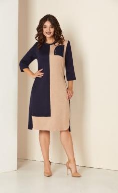 Dress Sale 00284 sinj+bezh
