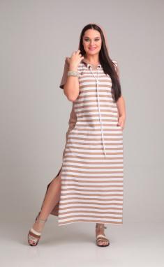 Dress Andrea Style 0382 bezh