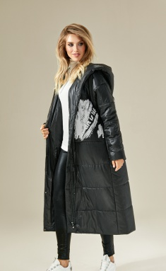 Coat DiLia Fashion 0230 chern