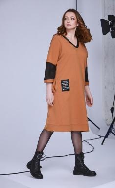 Dress Andrea Style 0340 karamel