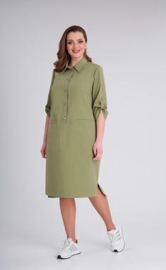 Dress Andrea Style 0348 xaki