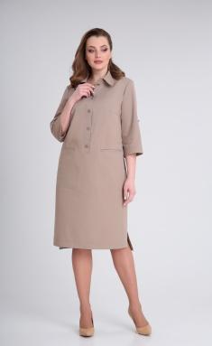 Dress Andrea Style 0348 kakao