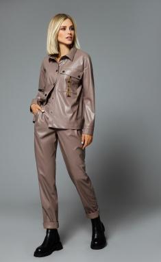 Trousers DiLia Fashion 0520 t.bezh