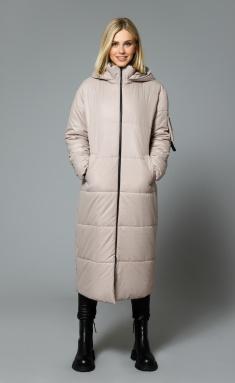 Coat DiLia Fashion 0512 bezh