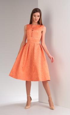 Dress Viola Style 0807 persik