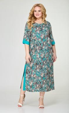 Dress Trikotex-Style M 0821 biryuza