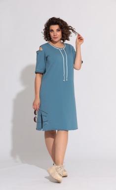 Dress BegiModa 1005 sinij