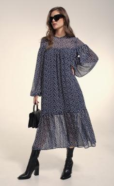 Dress MilMil 1032-21BL Bordo plate