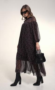 Dress MilMil 1032-21BR Bordo plate