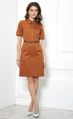 Dress AYZE 1040 oxra