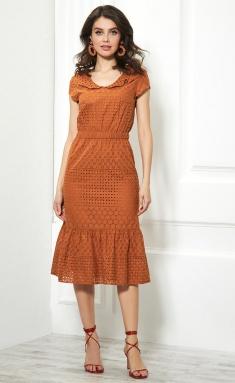 Dress AYZE 1048 oxra