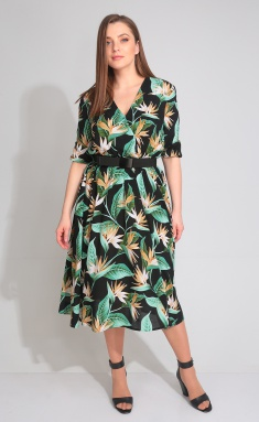Dress Ladis Line 1072