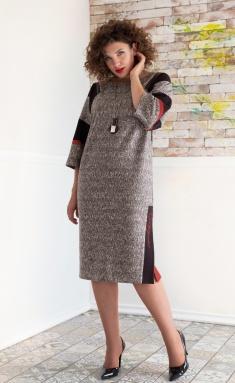 Dress Avanti Erika 1077-1 krasnyj