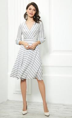 Dress AYZE 1081 seryj