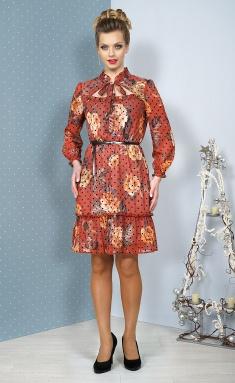 Dress ALANI 1084 terrakot