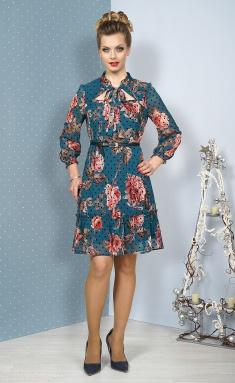 Dress ALANI 1084 izumrud
