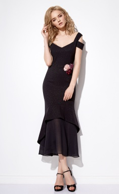Dress Anna Majewska M-1092 Black