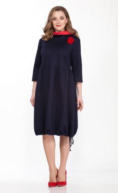 Dress Belinga 1095 sinij
