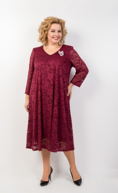 Dress Trikotex-Style M 11-19 bordo