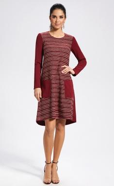 Dress AYZE 11-95 bordo