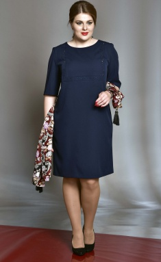 Dress SOVA 11012 sinij