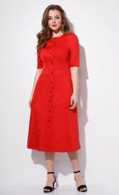 Dress Anna Majewska M-1101 Red