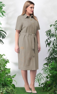 Dress LeNata 11024 t.bezh