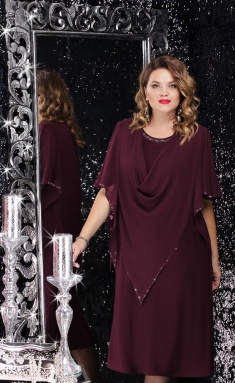 Dress LeNata 11059 vishn