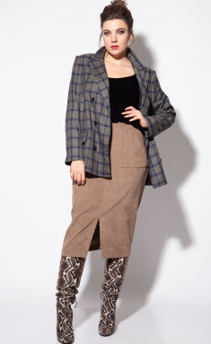 Skirt SOVA 11083 bezh