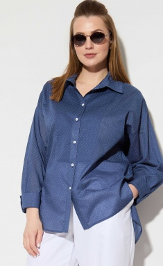 Shirt SOVA 11101 sinij gorox