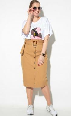 Skirt SOVA 11134 bezh