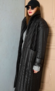 Coat SOVA 11145 chernyj