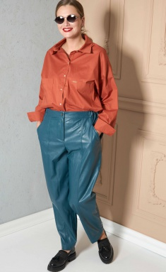 Trousers SOVA 11146 biryuza