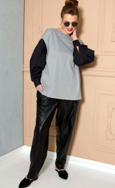 Trousers SOVA 11146 chernyj