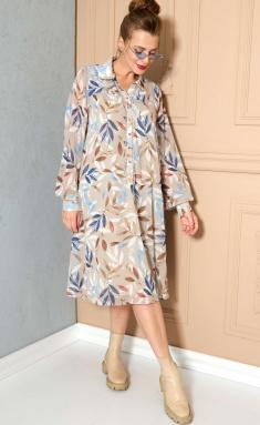 Dress SOVA 11148 bezh