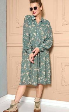 Dress SOVA 11148 sv. zelenyj