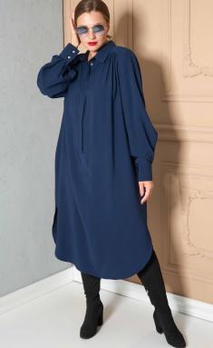 Dress SOVA 11149 sinij