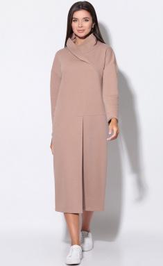 Dress LeNata 11156 kakao