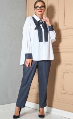Suits & sets SOVA 11158 belyj-sinij