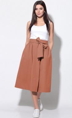 Skirt LeNata 11181 terrakot