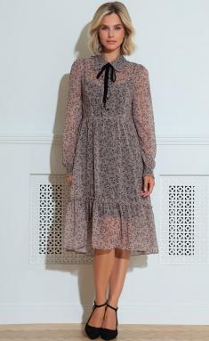 Dress LeNata 11220 bezh v cv