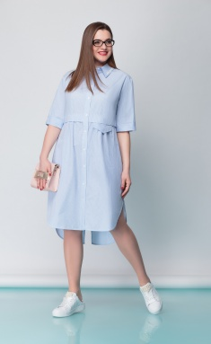 Dress Anna Majewska 1134Cloud