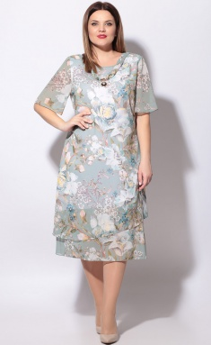 Dress LeNata 11746 cv na mentolovom