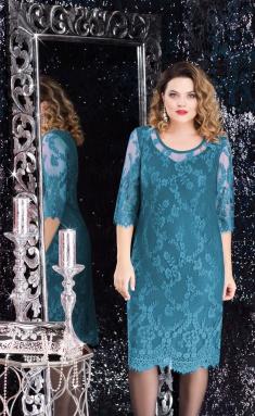 Dress LeNata 11908 izumr