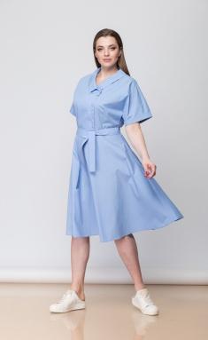 Dress Anna Majewska M-1197Sky